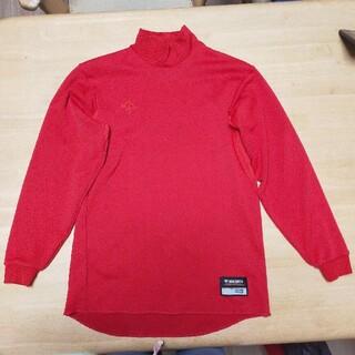 デサント(DESCENTE)の野球アンダーシャツ 160 赤(ウェア)