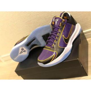 27cm Nike Kobe 5 Protro Champ Lakers