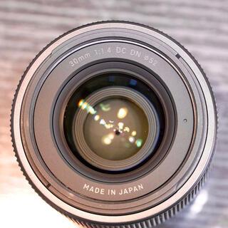 シグマ(SIGMA)のうっちー様専用30mm f1.4 DC DN SONY Eマウント eマウント用(レンズ(単焦点))