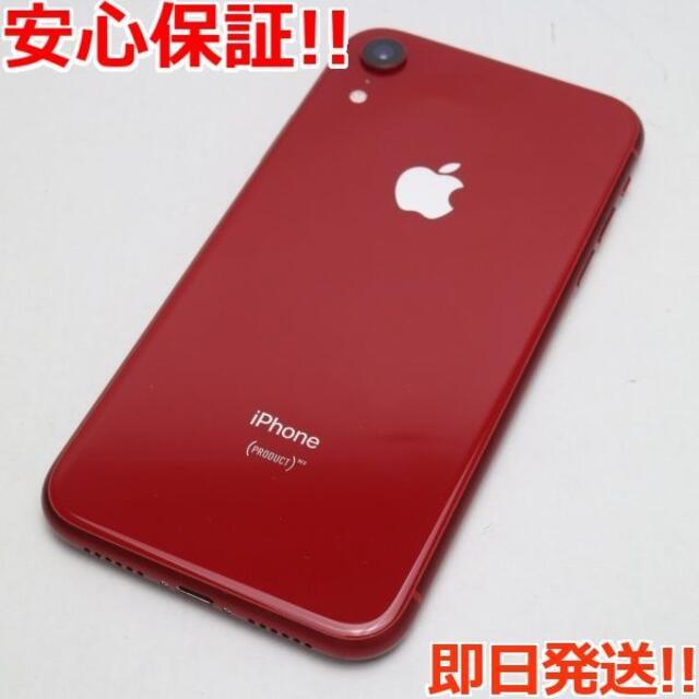 iPhone(アイフォーン)の美品 SIMフリー iPhoneXR 64GB レッド RED 白ロム  スマホ/家電/カメラのスマートフォン/携帯電話(スマートフォン本体)の商品写真