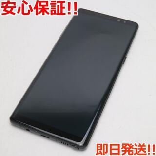 サムスン(SAMSUNG)の美品 SIMロック解除済 SC-01K ブラック 本体 白ロム (スマートフォン本体)