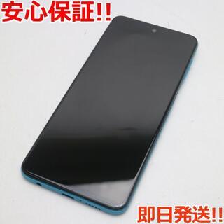 アンドロイド(ANDROID)の新品同様 SIMフリー Redmi Note 9S 128GB オーロラブルー (スマートフォン本体)