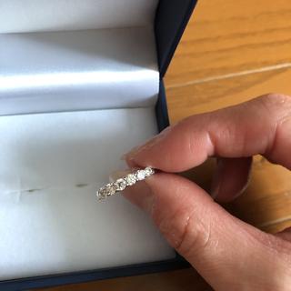 ジュエリーツツミ(JEWELRY TSUTSUMI)の新品未使用 ジュエリーツツミ PTダイヤモンドリング(リング(指輪))