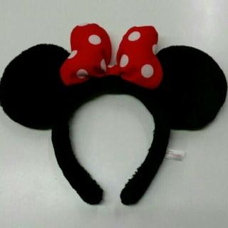 ディズニー(Disney)のディズニー カチューシャ&ポーチ(キャラクターグッズ)