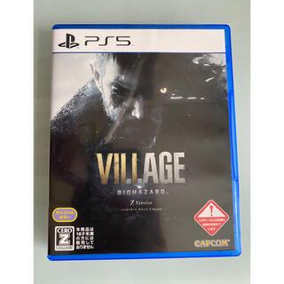PlayStation4 - バイオハザード ヴィレッジ Z Version PS5