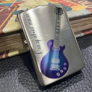 ジッポー(ZIPPO)の【ZIPPO】Crazy about music. ギター ジッポー 未使用美品(タバコグッズ)