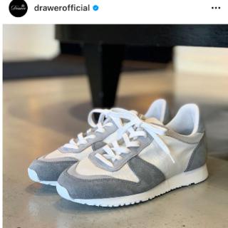 Drawer - ドゥロワー別注  drawer novesta スニーカー