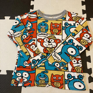 パーティーパーティー(PARTYPARTY)のPARTYPARTY  ロングTシャツ size110(Tシャツ/カットソー)