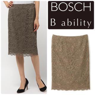 BOSCH - 美品 B ability   BOSCH ラッセルレーススカート 40