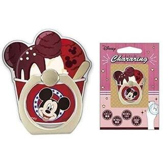 ディズニー(Disney)のディズニー アイスシリーズ キャラリングホルダー ミッキーマウス(iPhoneケース)