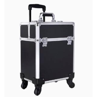 コスメボックス メイクボックス 鍵付キャリーケース 大容量 出張 旅行