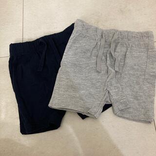 H&M - H&M ベビー パンツ2枚セット