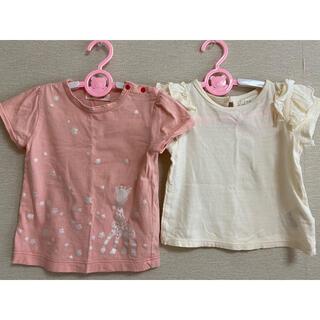 ラブアンドピースアンドマネー(Love&Peace&Money)のTシャツ 2枚セット サイズ90(Tシャツ/カットソー)