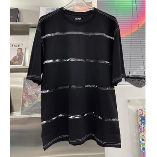 MAISON KITSUNE' - ADER ERROR  テープ Tシャツ