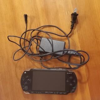 プレイステーション(PlayStation)のpsp 1000 + 充電器(携帯用ゲーム機本体)