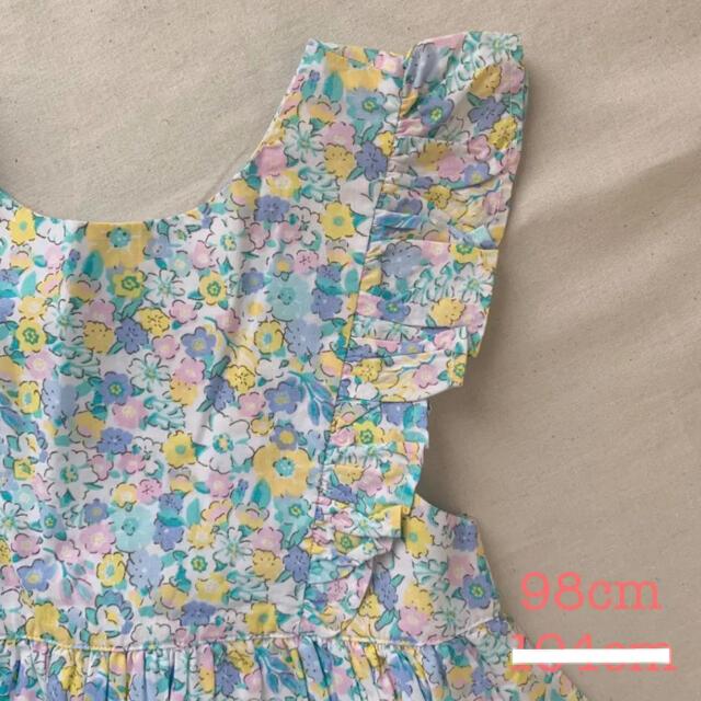 familiar(ファミリア)のjojo maman bebe ♡ パステルカラー フラワー ワンピース キッズ/ベビー/マタニティのキッズ服女の子用(90cm~)(ワンピース)の商品写真