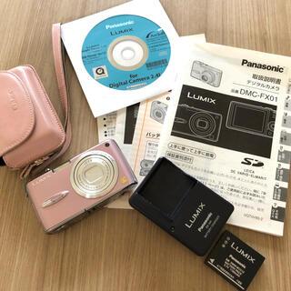 パナソニック(Panasonic)のPanasonic パナソニック LUMIX ルミックス DMC-FX01  (コンパクトデジタルカメラ)