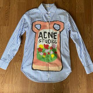 アクネ(ACNE)のAcne Studios プリントシャツ(XXS)    Sくらいのサイズ感です(シャツ/ブラウス(長袖/七分))