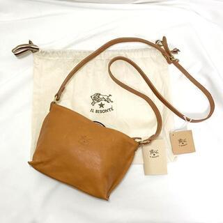 IL BISONTE - 未使用☆IL BISONTE イルビゾンテ ショルダーバッグ レザー 革 鞄