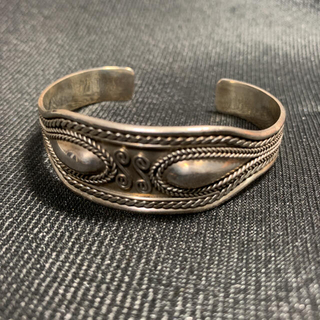 Jean-Paul GAULTIER - silver925 vintage design bangle