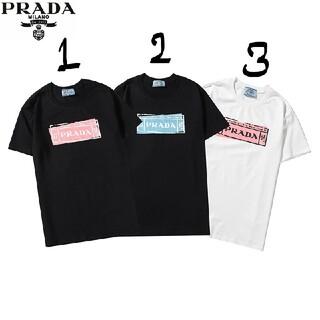 ✨2枚8000円PRADAプラダTシャツ#HHS121740