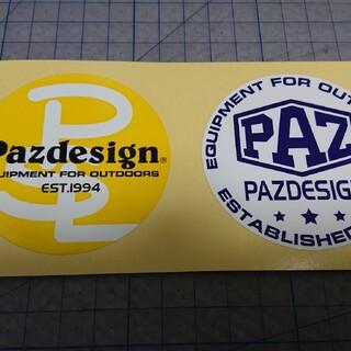 非売品『パズデザイン ステッカー』二枚セット