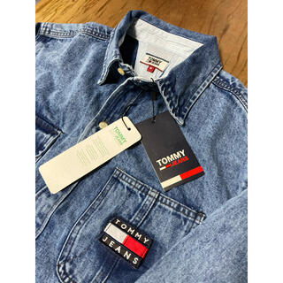 TOMMY HILFIGER - トミージーンズ Mサイズ 新品未使用 デニム シャツ TOMMY JEANS