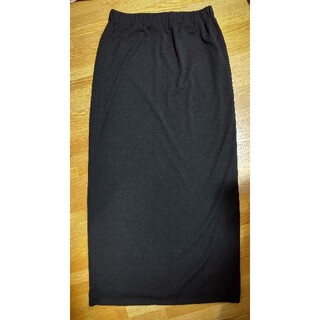 デュラス(DURAS)のDuras ロングタイトスカート BLACK(ロングスカート)
