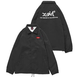 X-girl - X girl コーチジャケット サイズ2 黒 エックスガール