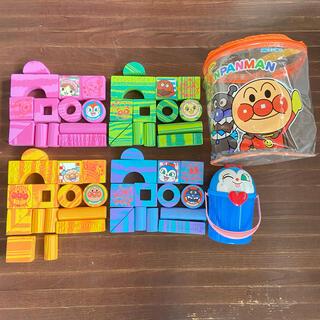 アンパンマン(アンパンマン)のアンパンマン やわらか安全つみき 58ピース(積み木/ブロック)