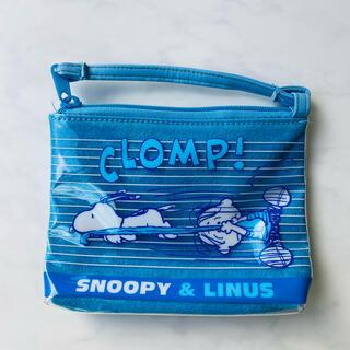 スヌーピー(SNOOPY)のSNOOPY スヌーピー PVC ポーチ ☆(ポーチ)