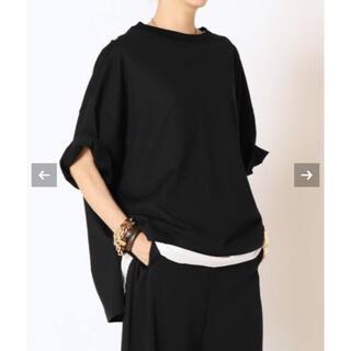 DEUXIEME CLASSE - COG THE BIG SMOKE COTTON Tシャツ コグ ブラック