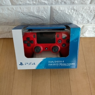 PlayStation4 - 最安値 プレイステーション4 純正 コントローラー マグマレッド