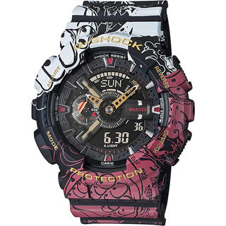 ジーショック(G-SHOCK)のOne Piece x Casio G-Shock GA-110JOP-1A4 (腕時計(デジタル))