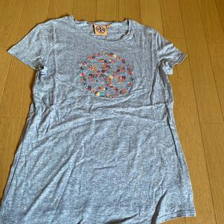 トリーバーチ(Tory Burch)のトリーバーチ  花刺繍 ロゴTシャツ (Tシャツ(半袖/袖なし))