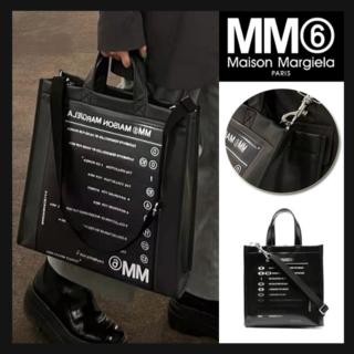 Maison Martin Margiela - MM6 Maison Margiela モトクロス ロゴ トートバッグ ショルダ