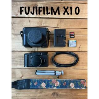 富士フイルム - 【レトロカメラ】FUJIFILM X10 カメラ初心者 1200万画素 高級感