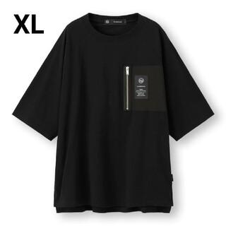 ジーユー(GU)のGU×UNDERCOVERスーパービックジップポケットTシャツ5分袖(Tシャツ/カットソー(半袖/袖なし))