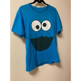セサミストリート(SESAME STREET)のsesame street Cookie Monster Tシャツ レア(Tシャツ/カットソー(半袖/袖なし))