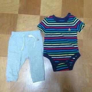 babyGAP - 60〜70サイズ babyGAP 夏服 パンツ&半袖ロンパース