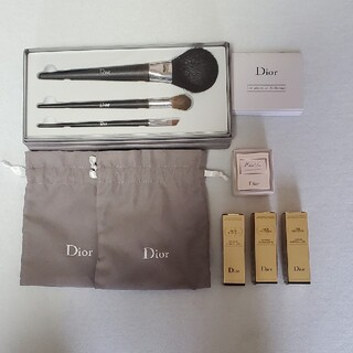 Dior - ディオール Dior ポーチ 巾着 グレー ノベルティ 非売品 サンプル 未使用