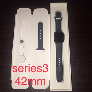 Apple Watch - アップルウォッチ Apple Watch Series3 GPSモデル 42mm