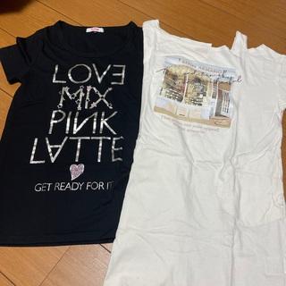 PINK-latte - ピンクラテ  Tシャツ