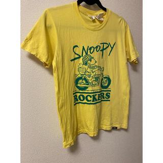 ピーナッツ(PEANUTS)のfitness SNOOPY rockers Tシャツ レア(Tシャツ/カットソー(半袖/袖なし))