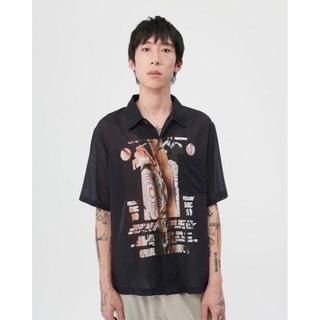 ジョンローレンスサリバン(JOHN LAWRENCE SULLIVAN)のour legacy 20ss 開襟シャツ size 46(シャツ)