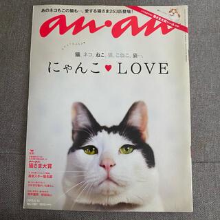 anan 2015年 にゃんこ LOVE  猫(その他)