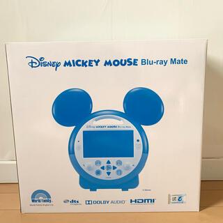 ディズニー(Disney)の【新品未使用】ミッキーマウス ブルーレイメイト DWE(ブルーレイプレイヤー)
