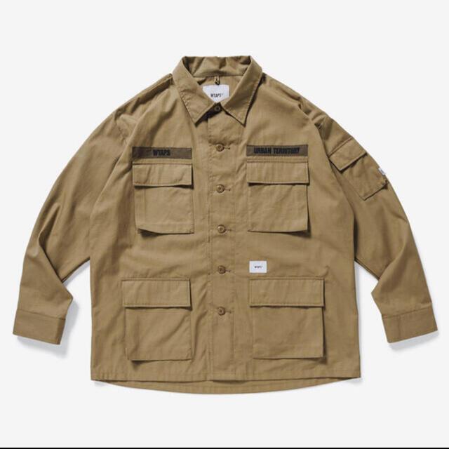 W)taps(ダブルタップス)のwtaps jungle beige L メンズのジャケット/アウター(ミリタリージャケット)の商品写真