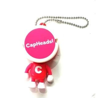 CapHeads! ピンク 送料無料300円!(キーホルダー)