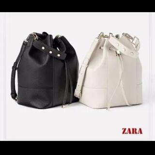 ザラ(ZARA)の【ZARA】巾着バック(ハンドバッグ)